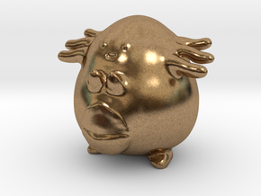 Chansey in Natural Brass