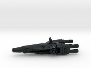 Corellian  Assault Transport in Black Hi-Def Acrylate
