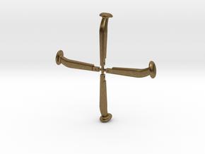 Kupplungsbolzen 1:13,3, 4 Stück in Natural Bronze