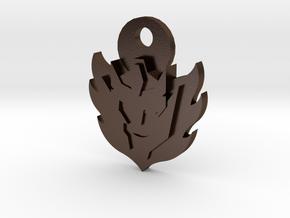 Rodimus Star Keychain in Polished Bronze Steel