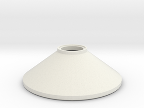 L 60 Betonschacht Konus in White Natural Versatile Plastic