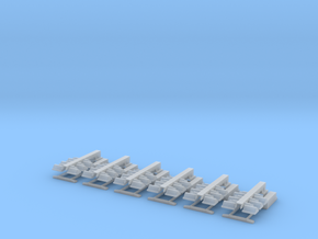 1/64 Light Towers set of 6 in Smooth Fine Detail Plastic