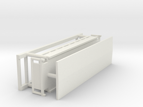 Aussichtswagen Aufsatz - 1:220 (Z scale) in White Natural Versatile Plastic