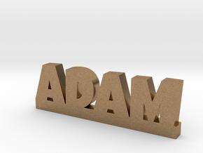 ADAM Lucky in Natural Brass
