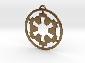 Imperial Pendant in Natural Bronze