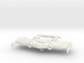 P 38 Colonial Lightning in White Natural Versatile Plastic