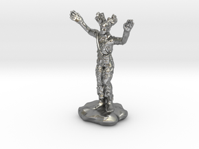 Wilden Warden Greenman Standing Pose in Natural Silver