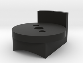 DL-44 ANH Scope Wheel Base in Black Natural Versatile Plastic
