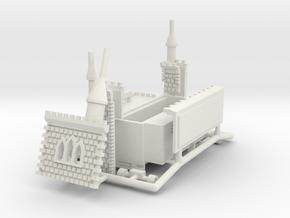 Mäuseschloss - 1:220, 1:160 oder 1:87 in White Natural Versatile Plastic: 1:220 - Z