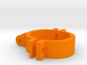 Go Pro 42mm in Orange Strong & Flexible Polished