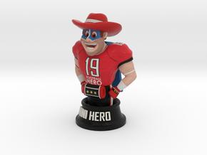 Mini football hero - version red in Full Color Sandstone