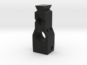 Gas Block in Black Natural Versatile Plastic