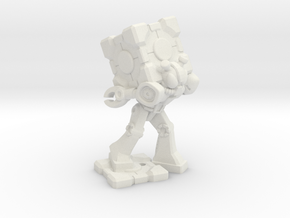 Waruder Kabutron Scavenger, 35mm Mini in White Natural Versatile Plastic