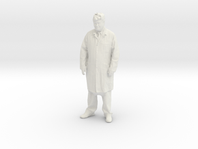 Printle T Homme 047 - 1/20 - wob in White Natural Versatile Plastic