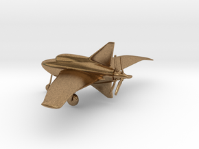 Northrop XP-56 Black Bullet in Natural Brass: 1:160 - N