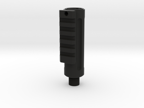 Railed Mk. 1 Barrel in Black Natural Versatile Plastic