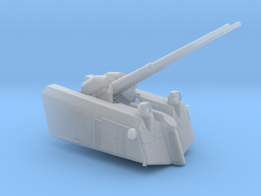 1/96 DKM SK/L65  C33 10.5 cm AA twin Gun in Smooth Fine Detail Plastic