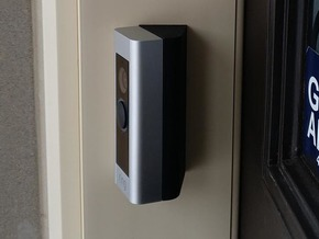 Ring Doorbell Pro 70 Degree Wedge in Black Natural Versatile Plastic