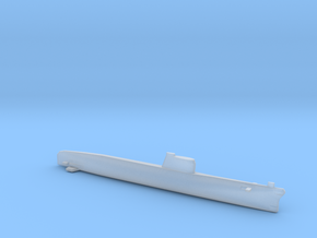 Foxtrot-class submarine, Full Hull, 1/1800 in Smooth Fine Detail Plastic