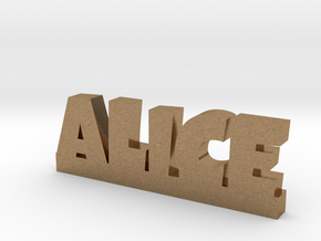 ALICE Lucky in Natural Brass