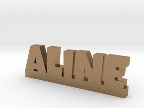 ALINE Lucky in Natural Brass