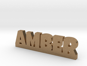 AMBER Lucky in Natural Brass