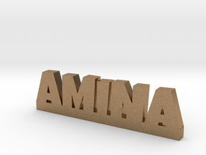 AMINA Lucky in Natural Brass