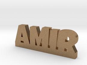 AMIR Lucky in Natural Brass
