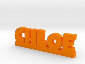 CHLOE Lucky in Orange Processed Versatile Plastic