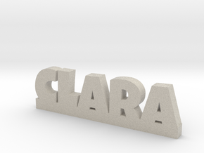 CLARA Lucky in Natural Sandstone