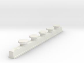 IKEA KVARTAL In Curtain Rail  V1 in White Natural Versatile Plastic