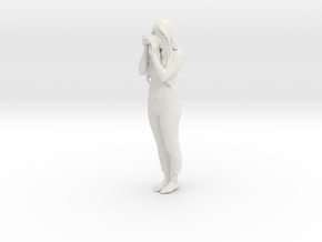 Printle C Femme 004 - 1/12 - wob in White Natural Versatile Plastic