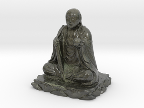 Small Buddha in Coated Full Color Sandstone