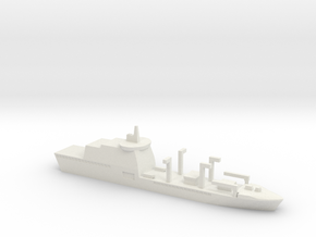 Italian Logistic Support Ship, 1/1800 in White Natural Versatile Plastic
