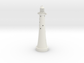 Eddystone Lighthouse 1/350th scale in White Strong & Flexible