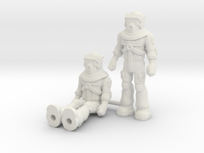Matt Trakker 2-pack, 35mm Minis in White Strong & Flexible