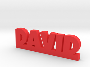 DAVID Lucky in Red Processed Versatile Plastic