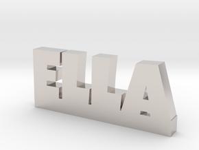 ELLA Lucky in Platinum