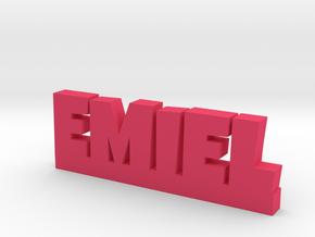 EMIEL Lucky in Pink Processed Versatile Plastic
