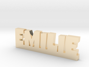 EMILIE Lucky in 14K Yellow Gold