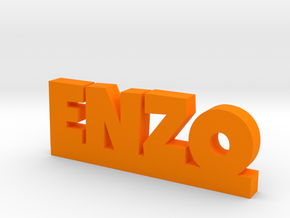 ENZO Lucky in Orange Processed Versatile Plastic