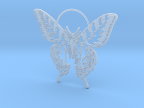 Butterfly 2 in Smooth Fine Detail Plastic