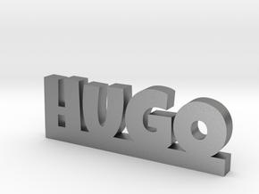 HUGO Lucky in Natural Silver