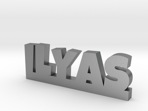 ILYAS Lucky in Natural Silver