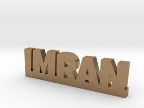 IMRAN Lucky in Natural Brass