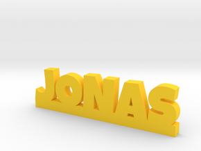 JONAS Lucky in Yellow Processed Versatile Plastic
