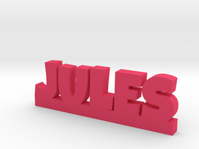 JULES Lucky in Pink Processed Versatile Plastic