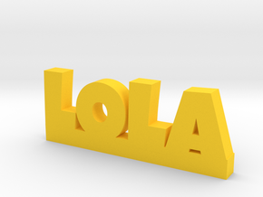 LOLA Lucky in Yellow Strong & Flexible Polished