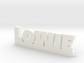 LOWIE Lucky in White Processed Versatile Plastic