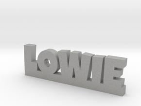 LOWIE Lucky in Aluminum